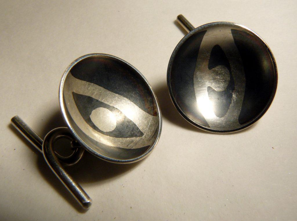 Zilveren manchetknopen