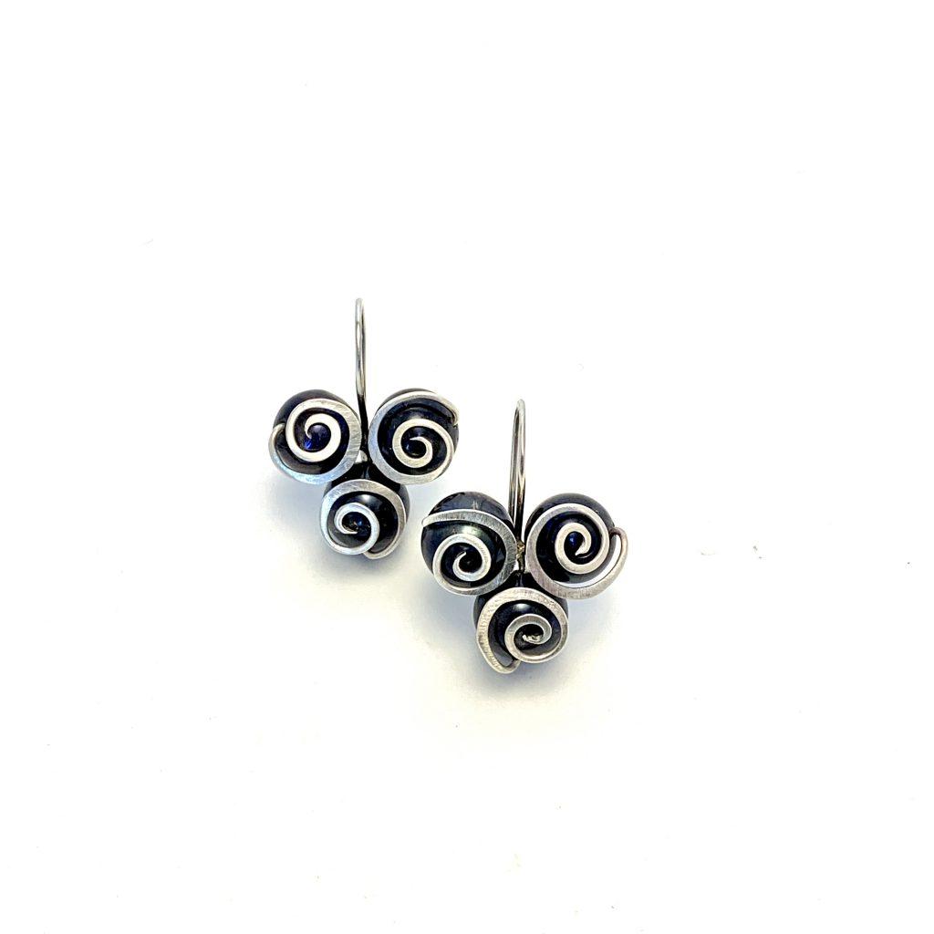 afbeelding van parel oorbellen