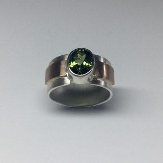 Foto van Toermalijn ring